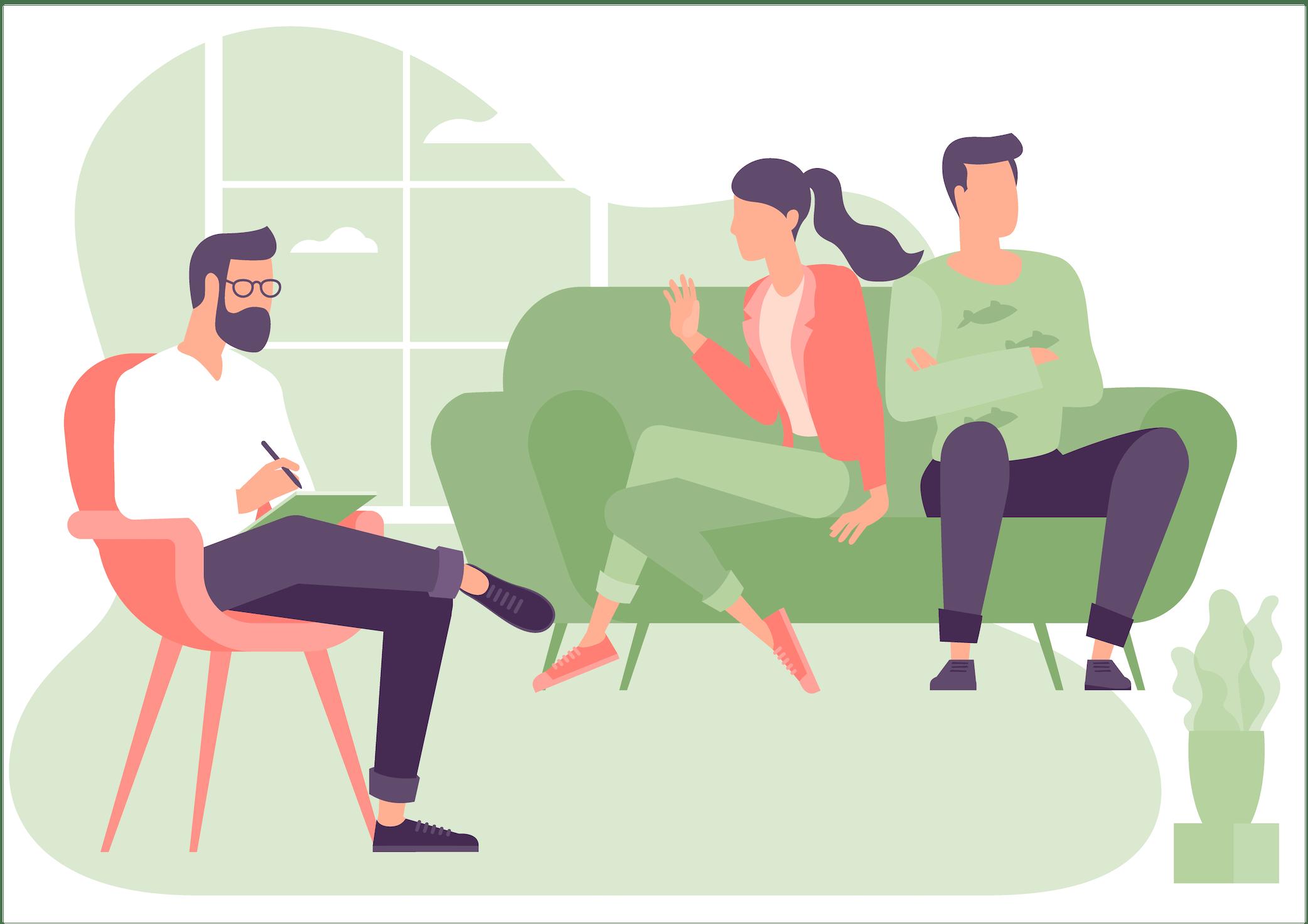 Sesja terapeutyczna z parą. Psychoterapia online.