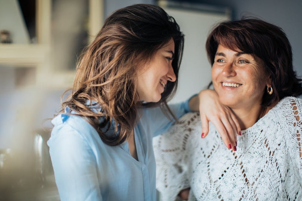 Relacje matki z córką.